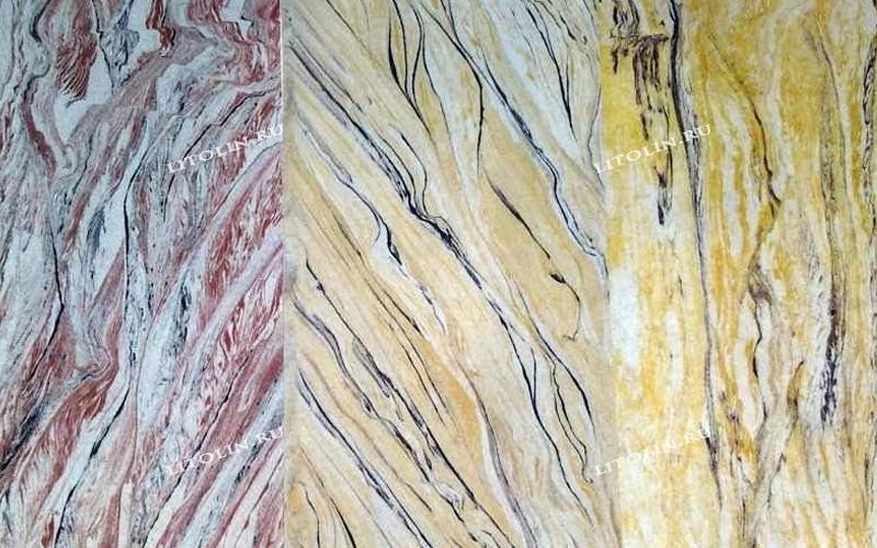 Термопанели из камня Ассорти 3