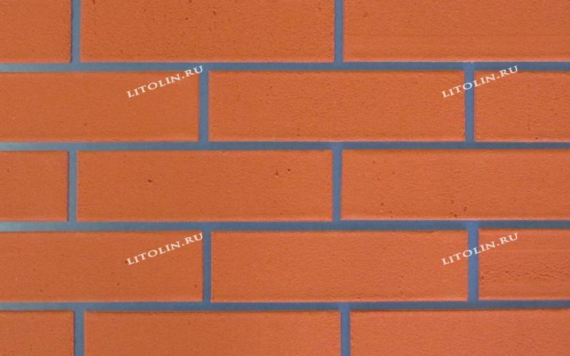 Клинкерные термопанели Тёмно-оранжевый