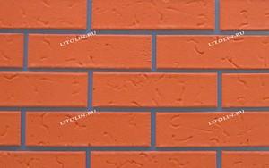 Калуга Гибкий клинкер Тёмно-оранжевый с текстурой