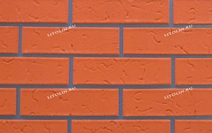 Краснодар Гибкий клинкер Тёмно-оранжевый с текстурой