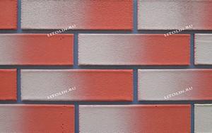 Санкт-Петербург Гибкий клинкер Тёмно-красный фундамент с серым градиентом